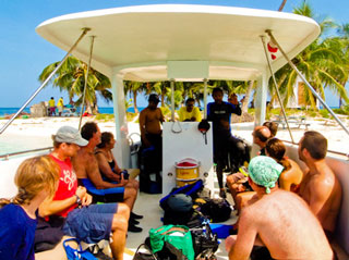 Divemaster course in Placencia Belize