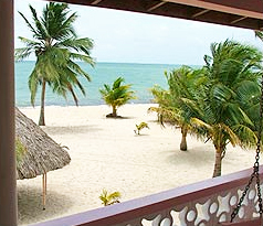 sea view accommodation placencia belize